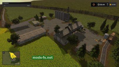 Скриншот карты «Восточный регион»