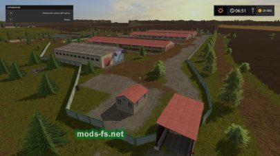Большая карта для Farming Simulator 2017