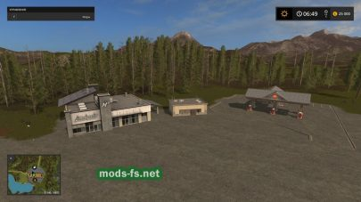 Forest Map mods FS 2017