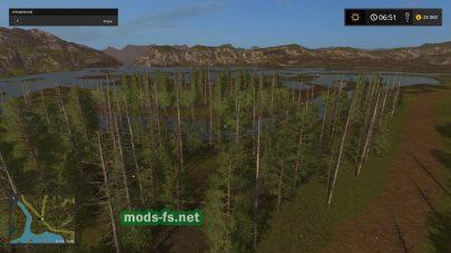 Мод карты для занятия лесным хозяйством