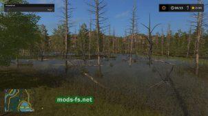 Мод карты на которой только лес