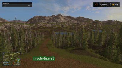 Карта Forest Map v1 для FS 2017