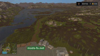Карат с болотом для Farming Simulator 2017