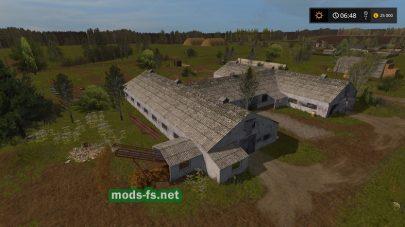 Ферма на карте Бухалово 2 в игре FS 2017