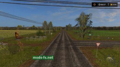 Дороги на карте Бухалово 2