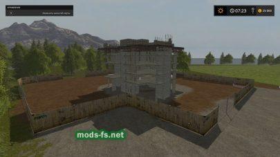 Строительство в игре FS 2017