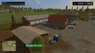 Ферма на карте «Холмы Вестбриджа»