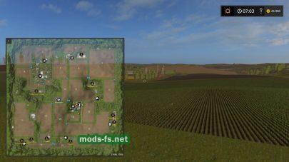 Схема карты Westbridge Hills