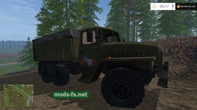 Грузовик Урал-4320 для FS 2017