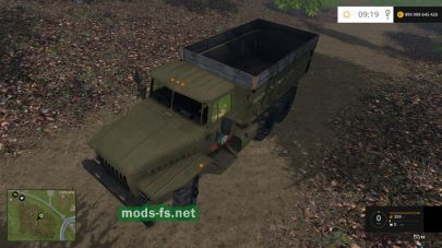 Мод на Урал-4320