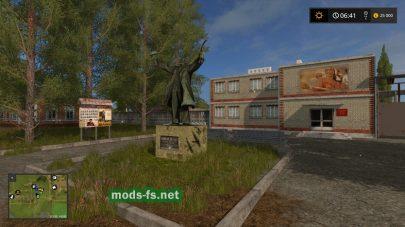 Колхоз Рассвет 2 для Farming Simulator 2017