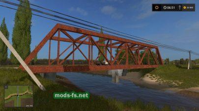 Мост в игре FS 2017