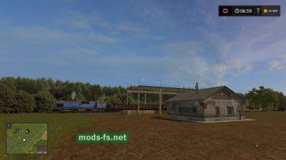 Мод карты Колхоз Рассвет 2 в игре Фермер Симулятор 2017