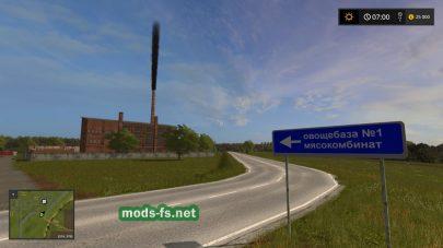 Дороги на карте Колхоз Рассвет 2