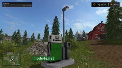 Мод заправки для Farming Simulator 2017