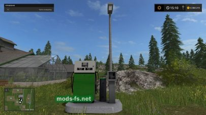 Мод заправочной станции для Фермер Симулятор 2017