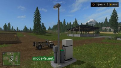 Fuel station mods FS 2017