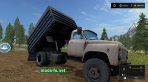 Фермер Симулятор 2017: мод ГАЗ-53
