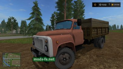 Мод ГАЗ 53 для Фермер Симулятор 2017
