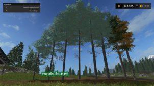 Голубая ель для Farming Simulator 2017