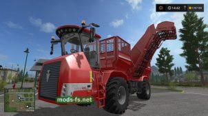 Свеклоуборочный комбайн Holmer для Farming Simulator 2017