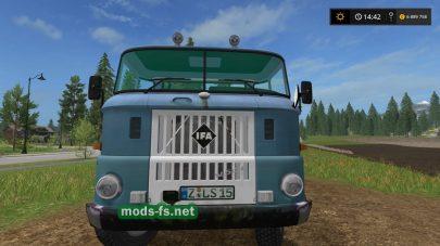 Мод грузовика IFA W50 Twoinone