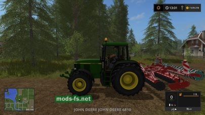 JD 6810 для Farming Simulator 2017
