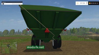 Мод прицепа-перегрузчика для Фермер Симулятор 2015