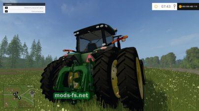 JOHN DEERE 8400R mods