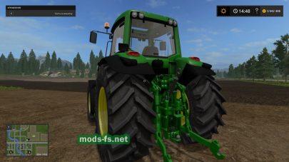 John Deere 7430 для Фермер Симулятор 2017