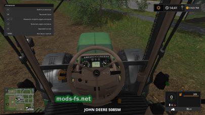 Скриншот мода JOHN DEERE 5085M