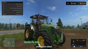 Трактор JOHN DEERE 5085M для игры Фермер Симулятор 2017