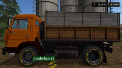 Kamaz Kipper для игры Farming Simulator 2017