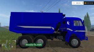 Грузовик КамАЗ 55111 для Фермер Симулятор 2017