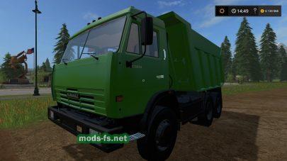 Мод КамАЗ-65115 для Фермер Симулятор 2017
