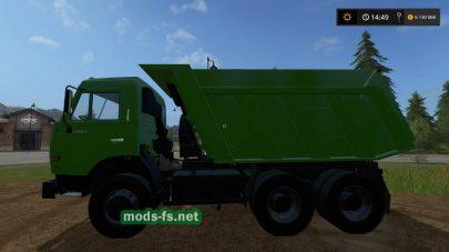 Скриншот мода КамАЗ-65115