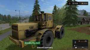 Кировец для Farming Simulator 2017