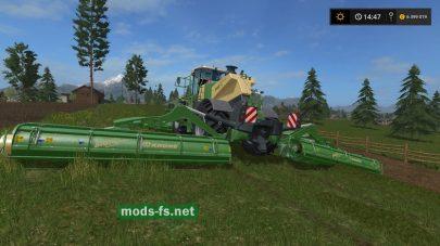 KRONE BIGM500 для Farming Simulator 2017