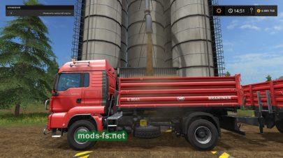 MAN TGS 18.440 Tipper для Farming Simulator 2017