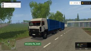 MAZ & SZAP 8305 для Farming Simulator 2015
