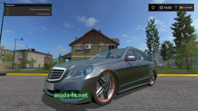 Мод Mercedes E350 German-Look