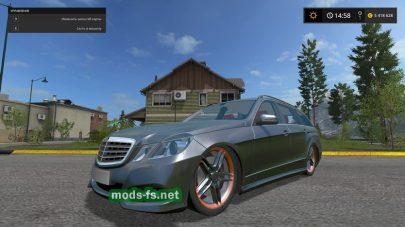 Мод Mercedes E350 German-Look