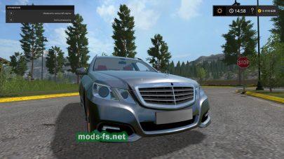 Mercedes E350 mods