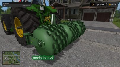 Fendt Silowalze для FS 2017