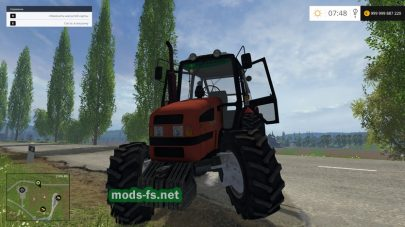 Трактор МТЗ 1221.3 для Farming Simulator 2015
