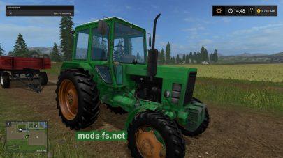 Трактор МТЗ-82 для Farming Simulator 2017