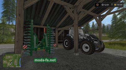 Мод на склад для техники в Farming Simulator 2017