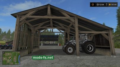 Мод сарая для Farming Simulator 2017