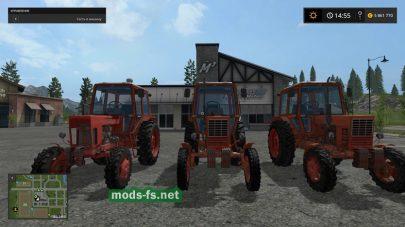 Набор модов тракторов FS 2017