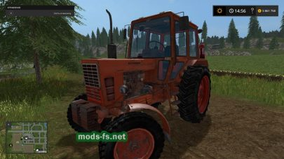 Мод МТЗ 80 и МТЗ 82 для Farming Simulator 2017